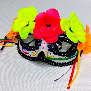 Day of the Dead Eye Mask SUPER CUTE!